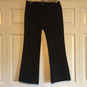 GAP Dress Pants size 6A Dark Grey Bootcut